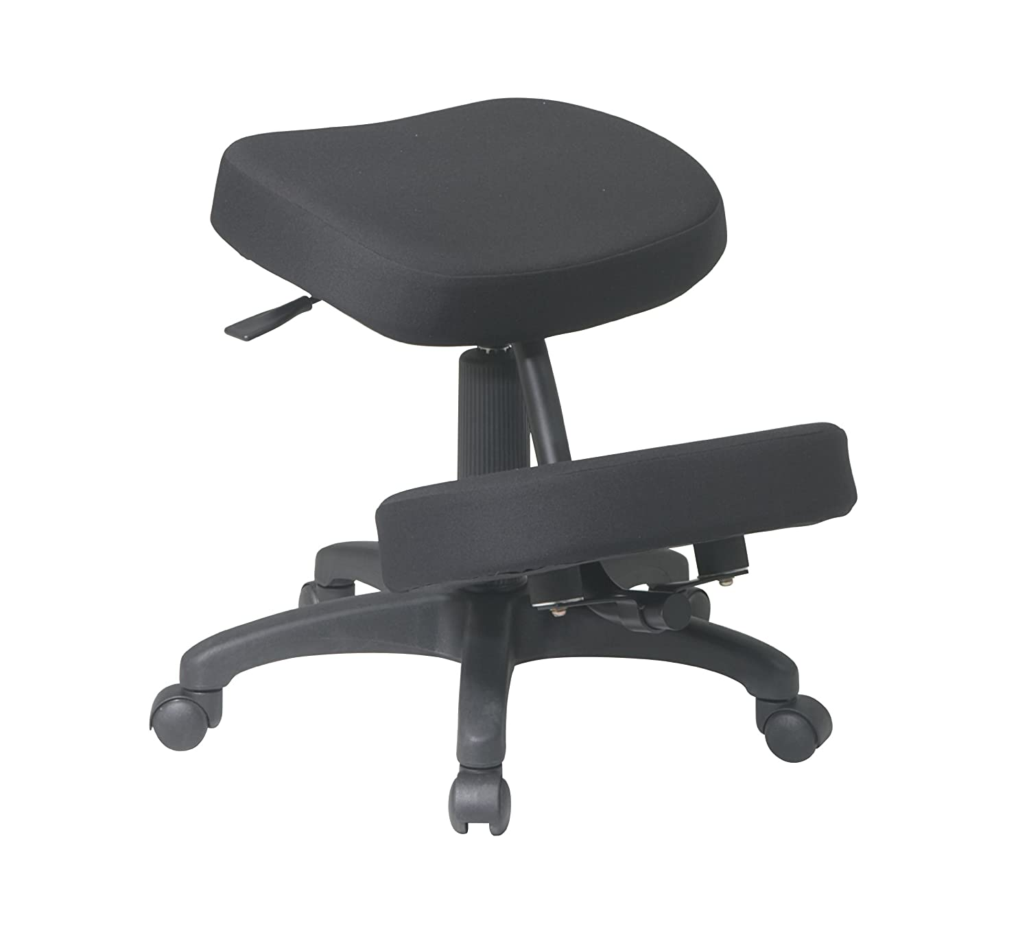 kneeling office chair. Office Star Ergonomically Designed Knee Chair With Casters, Memory Foam And 5 Base, Black: Amazon.ca: Home \u0026 Kitchen Kneeling I
