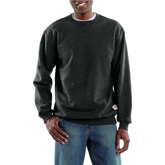 Carhartt Herren Sweatshirt Midweight Crewneck Sweatshirt Crh-Carbon Heather: Amazon.es: Ropa y accesorios