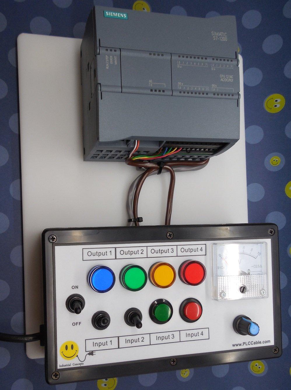 SIEMENS S7 1200 PLC Trainer, ANALOG, Software, Ethernet
