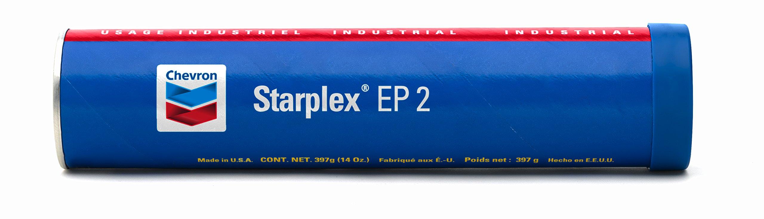 Chevron 277111652 Starplex Grease Ep2 (Pack of 10) by Chevron (Image #1)