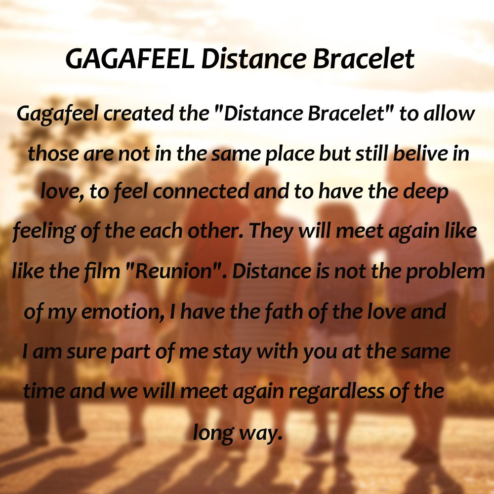 Gagafeel His Hers Black Matte Agate & White Howlite 8mm Beads Long Distance Relationship Couple Bracelet (1# 8mm)