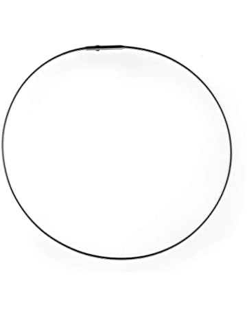 reihig,bicolor 0,54 mm je Seil Halsreif Edelstahl /& Edelstahl vergoldet,45cm,3