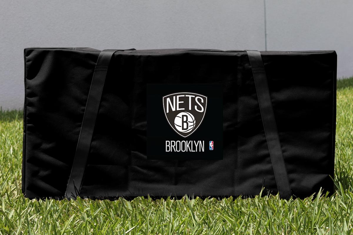 Victory Tailgate Brooklyn BKN Nets NBA Cornhole Carrying Case