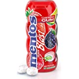 Mentos Gum Sugar Free, Juice Blast Red Fruit Lime -14 Pcs (Pack of 10)
