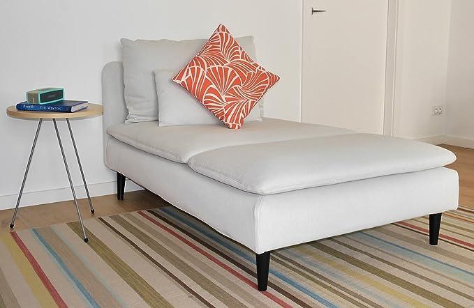 LEGHEADS IKEA Patas para muebles M8, Patas de repuesto para sofá, sofá, sofá, sillones, elevadores de cama, hacks IKEA