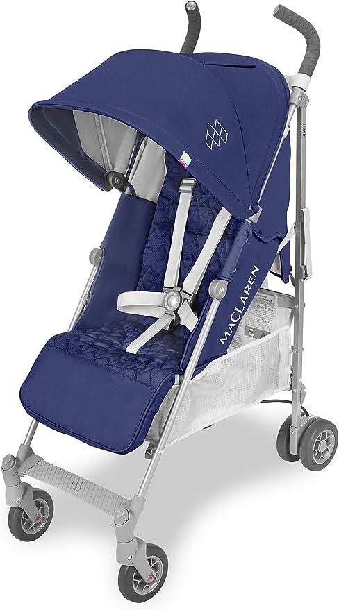 Opinión sobre Maclaren Quest - Silla de paseo para recién nacidos hasta los 25kg, asiento multiposición, suspensión en las 4 ruedas, capota extensible con UPF 50+