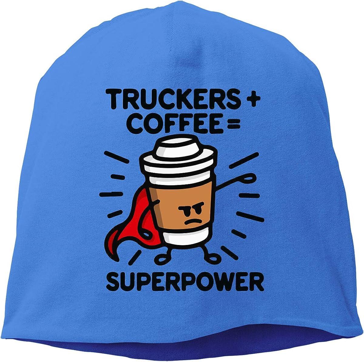 Winter Warm Knit Hat TLPM9LKMBM Truckers Coffee Beanie Skull Cap for Women and Men