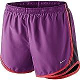 Nike Womens Tempo Running Athletic Shorts Purple Dusk S