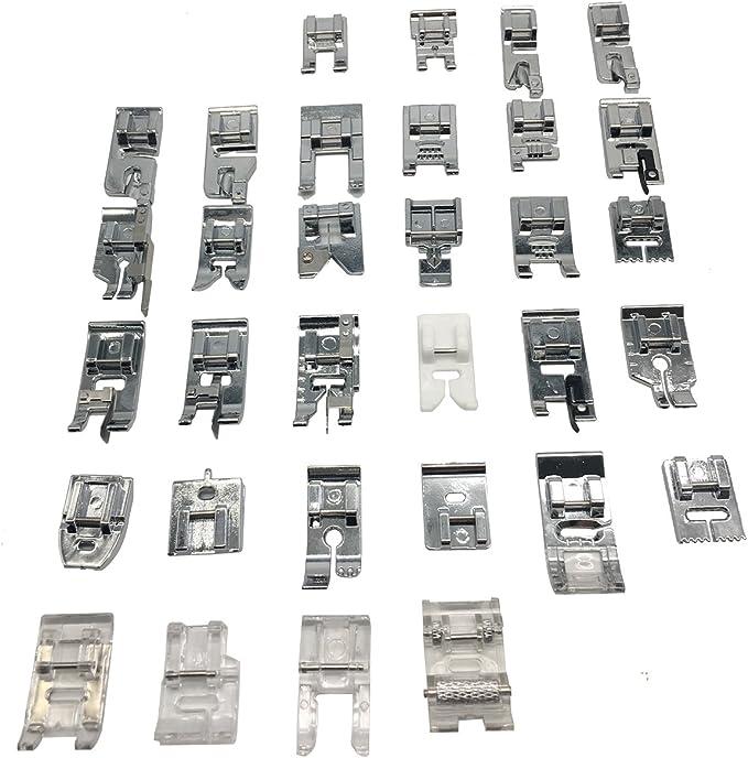 honeysew 32/42/52 Kit de prensatelas para baja vástago adaptador ...