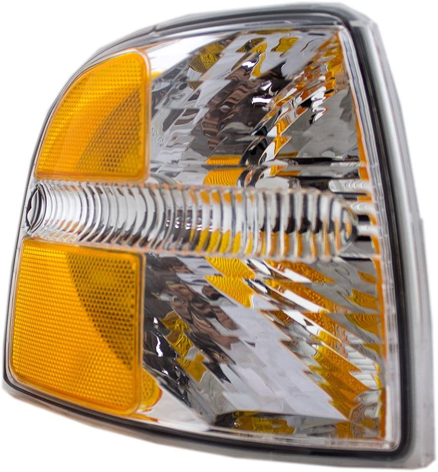 Passengers Park Signal Corner Marker Light Lamp Lens Replacement for Ford SUV 4L2Z13200AB