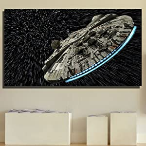 JESC Painting 1 Piece Canvas Art for Living Room Bedroom Canvas Prints Wall Decor No Frame (A, 50x75cmx1) …