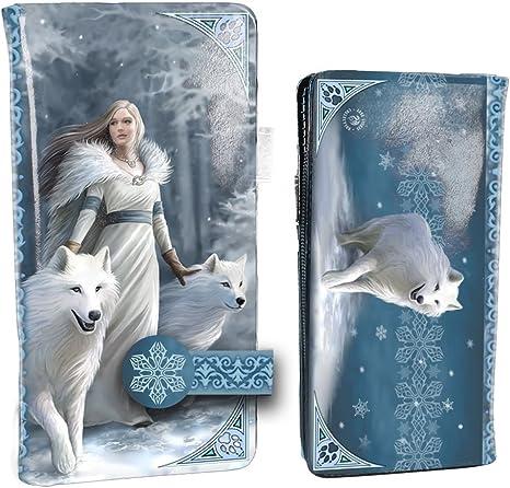Nemesis Now Winter Guardians Anne Stokes 18,5 cm Monedero en Relieve Color Azul