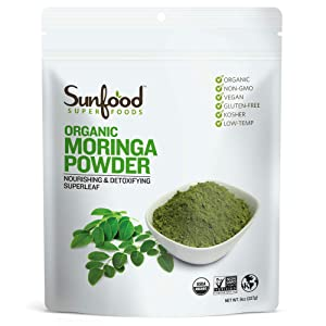 Sunfood Moringa (8 Ounce)