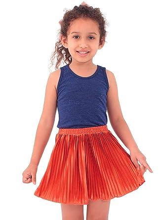 American Apparel - Falda - Ropa - para niña naranja Pumpkin ...