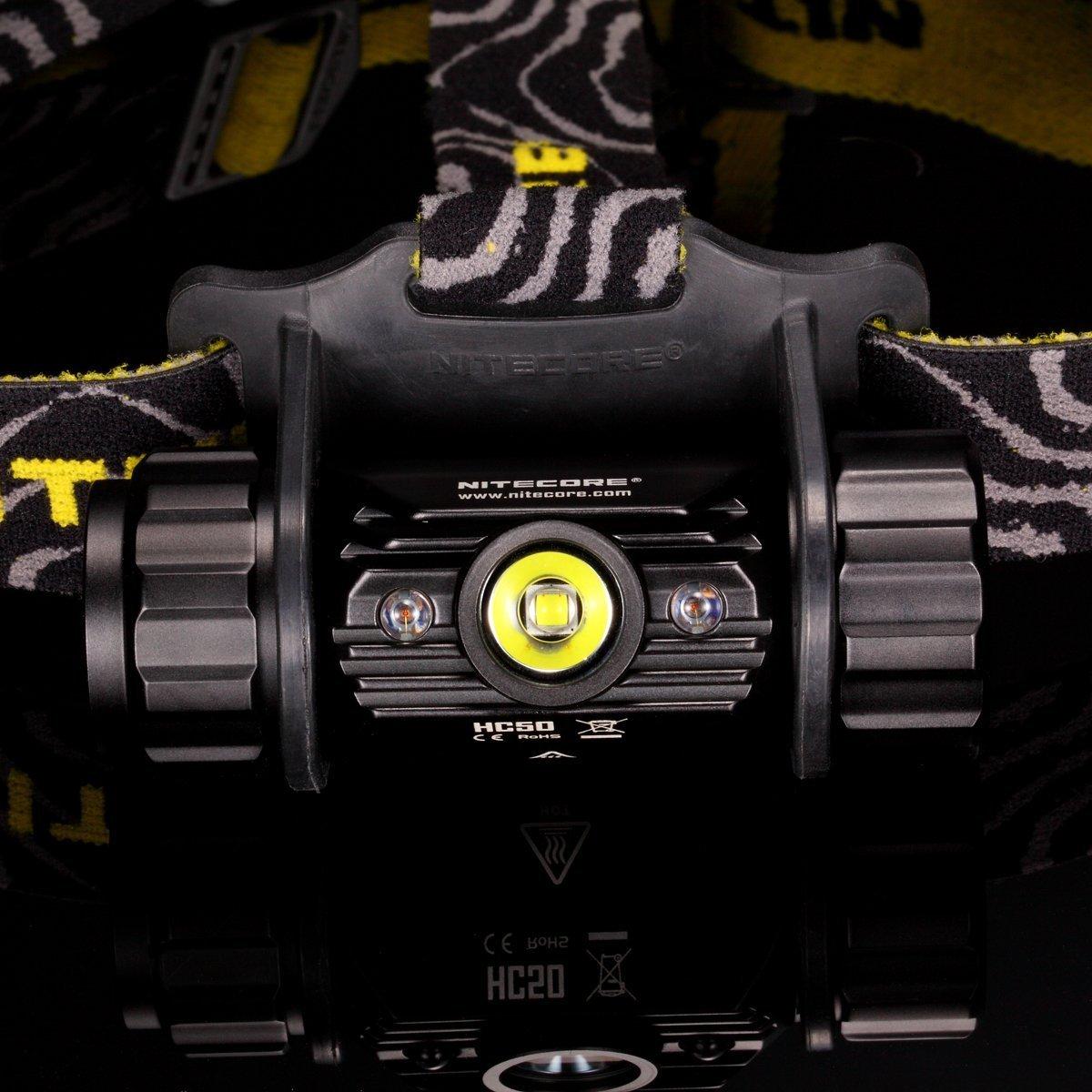Nitecore NCHC50 Lanterna,Unisex - Adulto, Negro, un tamaño: Amazon.es: Deportes y aire libre