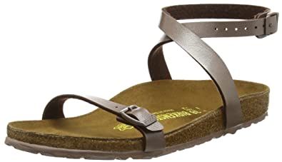 d548130af3e6 Birkenstock Women s Daloa Birko-Flor Open Toe Sandals Brown Size  2 ...