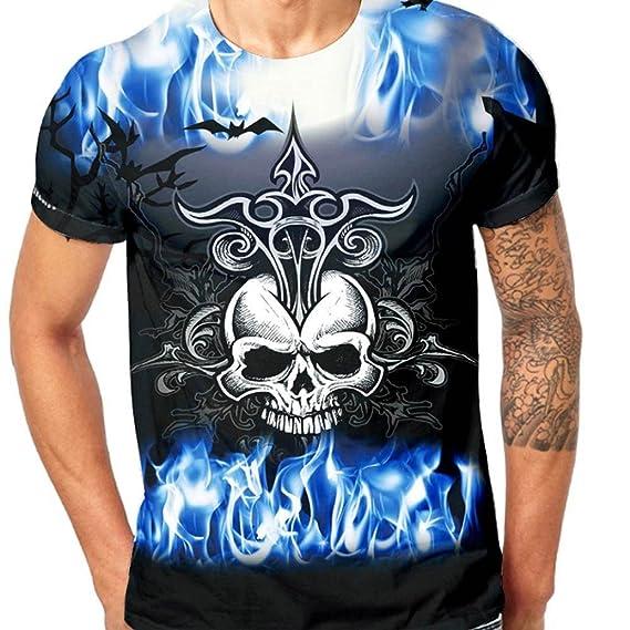 Camisas De Moda 2018 Primavera para Hombre Tops Camisa Ropa Hombre Barata Ofertas Cráneo Impresión 3D Camisas Hombre Elasticas Camisas para Hombre Lisas ...