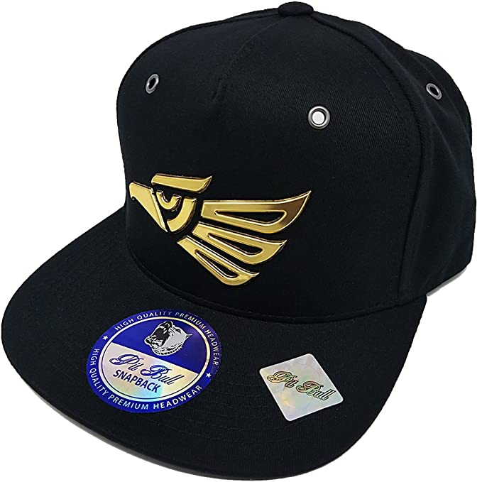 Mrkap Mexico Eagle En Hecho Hat Hip Hop Snapback Flat Bill Metallic