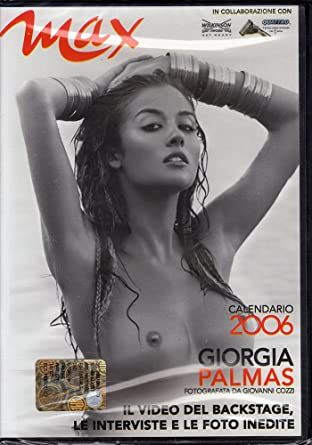 Giorgia Palmas Calendario.Giorgia Palmas Calendario 2006 Max Amazon It Film E Tv