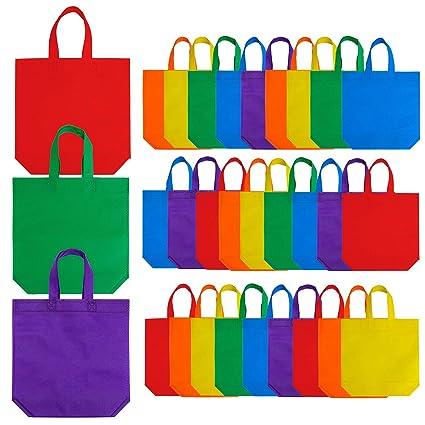 Amazon.com: Aneco - Bolsas de regalo para fiesta, 24 piezas ...