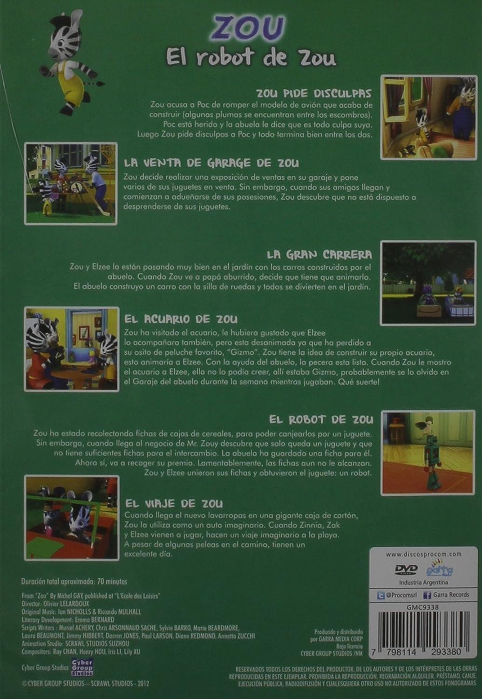 Amazon.com: El Robot de Zou-6 Episodios: The Zou: Movies & TV