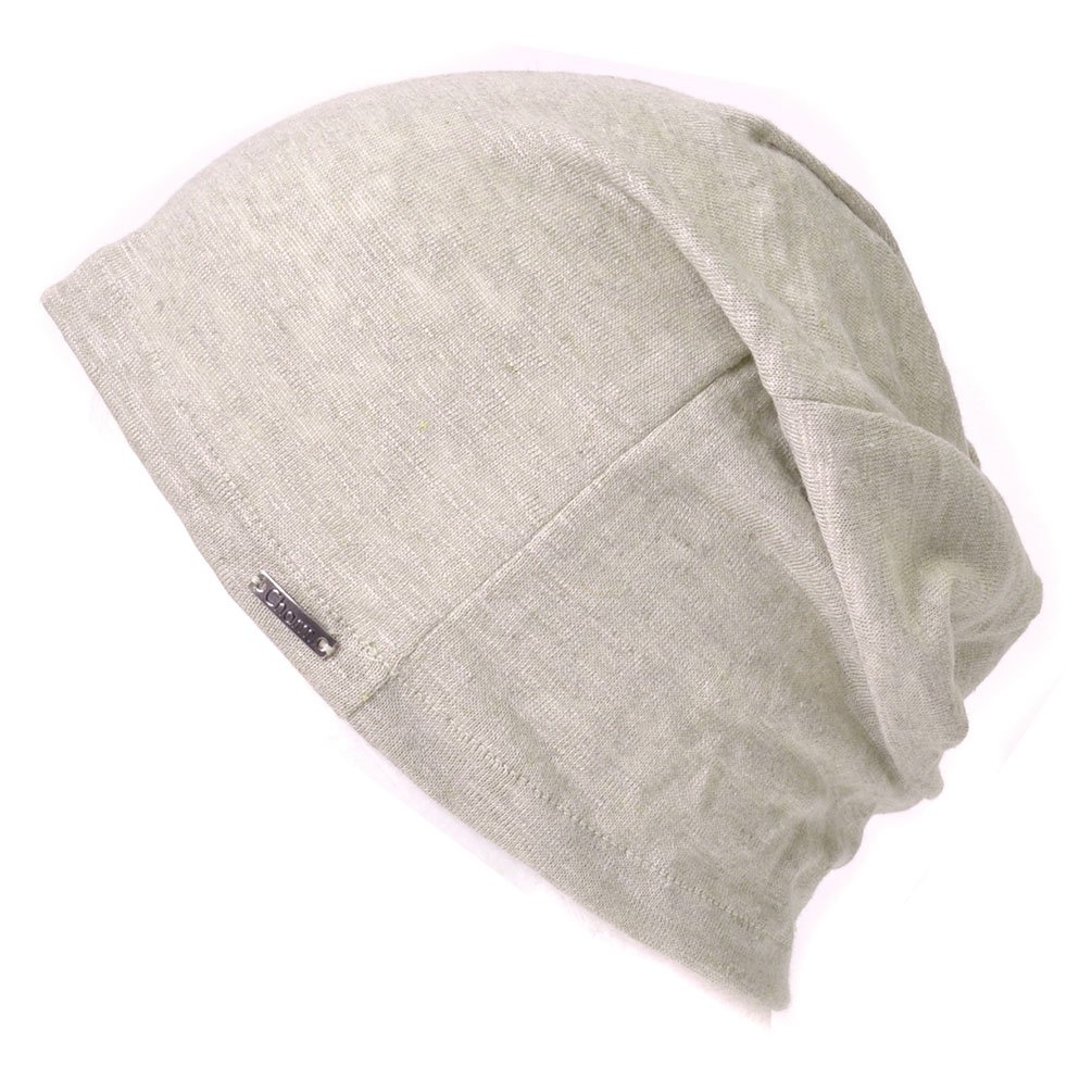 Flax Men`s Summer Bottomless Cap-Japanese Handy Knitted Cap