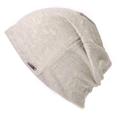 a3b5d7ea Linen Mens Summer Beanie - Slouchy Lightweight Knit Hat Cap Made in Japan by  Casualbox Biege