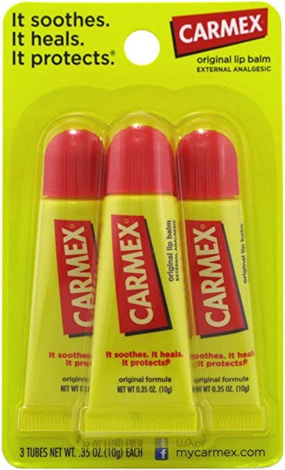 Carmex Sapore originale Moisturizing Lip Balm tubo Value Pack: Amazon.es: Belleza