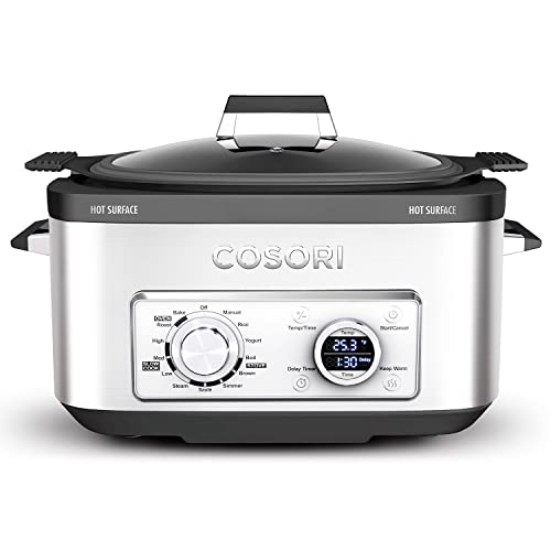 Corosi 6-Quart Programmable Slow Cooker