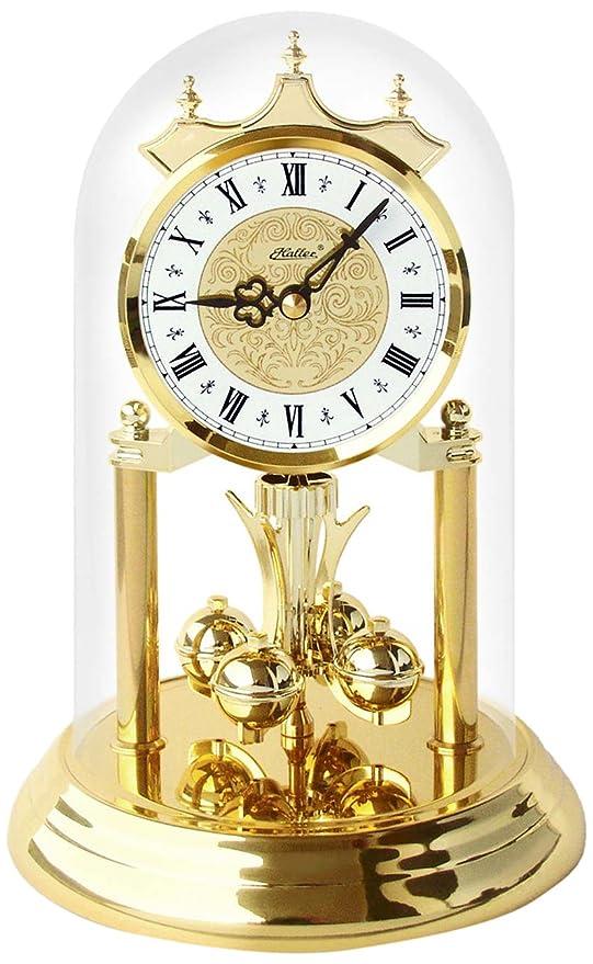 Haller 821-080 - Orologio a pendolo da tavolo, in stile classico ...