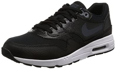 big sale e41b6 ac1ed Nike Women s W Air Max 1 Ultra 2.0, BLACK MTLC HEMATITE-BLACK-
