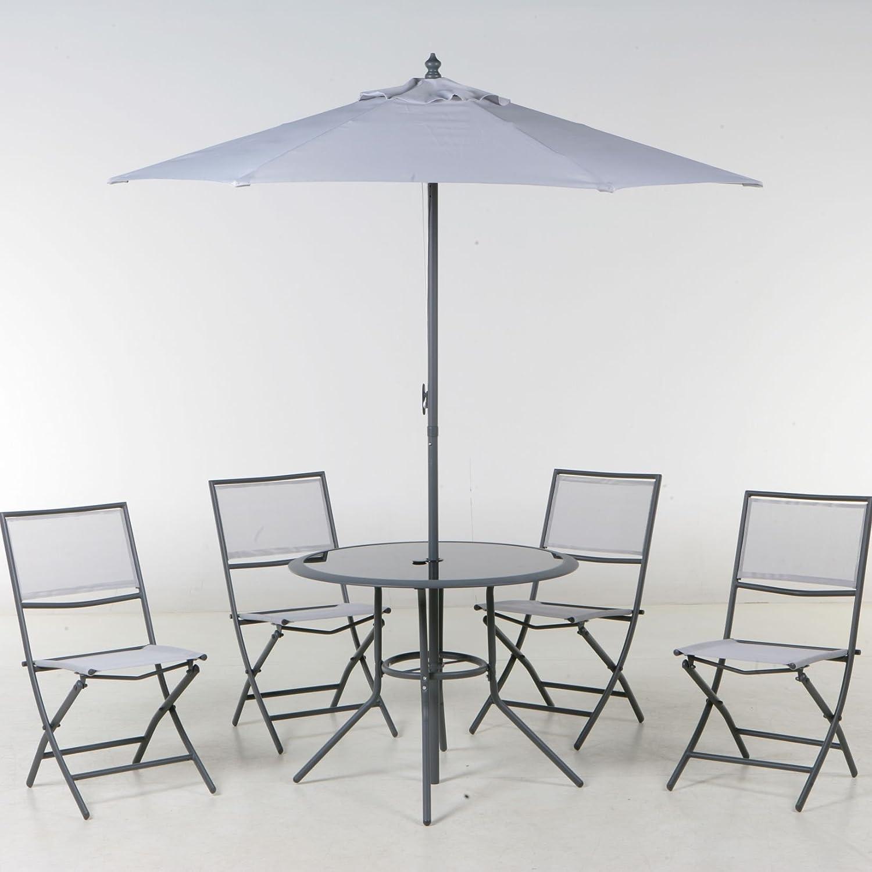 Hesperide - Salon terrasse ajaccio gris: Amazon.fr: Jardin