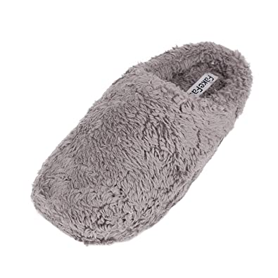 6cf3d9ef587e Women Men Comfy Fluffy Slippers Luxury Indoor Home Faux Fur Slip On Warm  Footwear Shoes with
