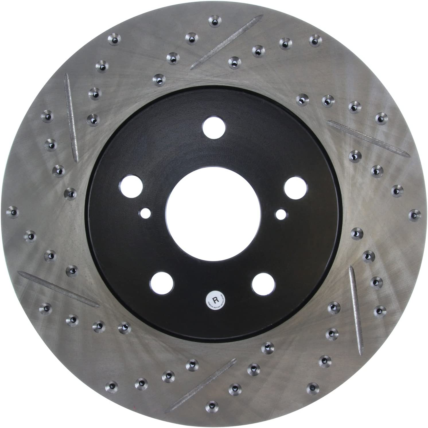 FOR Toyota Camry Set of Front Left /& Right StopTech Slotted Brake Disc Rotors