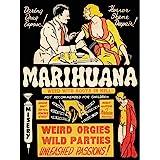 Wee Blue Coo Political Drug Abuse Marijuana Weed Weird Unframed Wall Art Print Poster Home Decor Premium