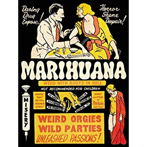 Wee Blue Coo Propaganda Political Drug Abuse Marijuana Weed Weird Unframed Wall Art Print Poster Home Decor Premium