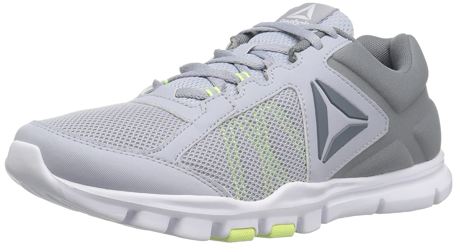Reebok Women's Yourflex Trainette 9.0 MT Cross-Trainer Shoe B01NCLN7XE 7.5 B(M) US|Cloud Grey/Asteroid Dust/Electric Flash/White