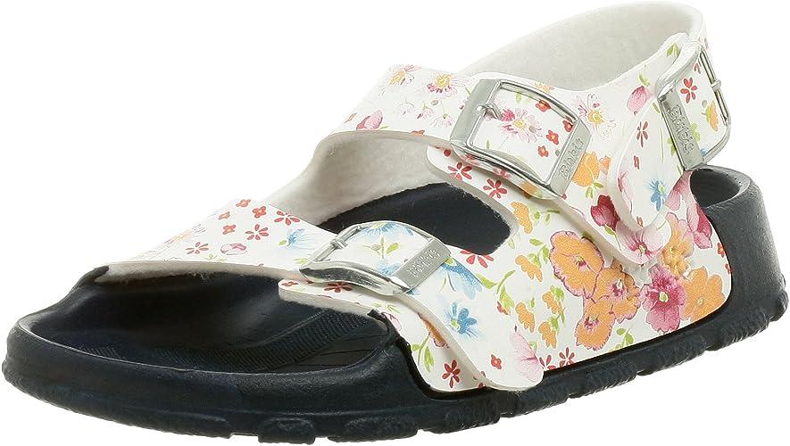 Toddler//Little Kid//Big Kid 3-3.5 N US Big Kid Birkis Aruba Sandal ,Magic Flower White,34 N EU