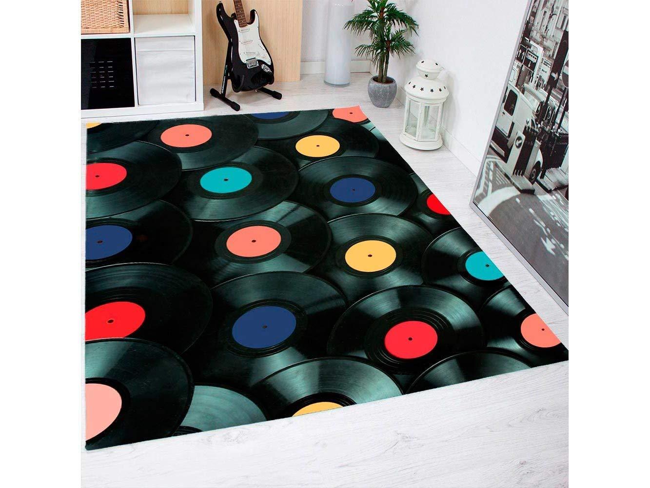 Oedim Teppich Schallplatten Schallplatten Schallplatten PVC 95 cm x 120 cm   PVC Erwachsener Teppich   Vinylboden für Erwachsene B07CQQC8ZC Teppiche & Lufer 40f30c