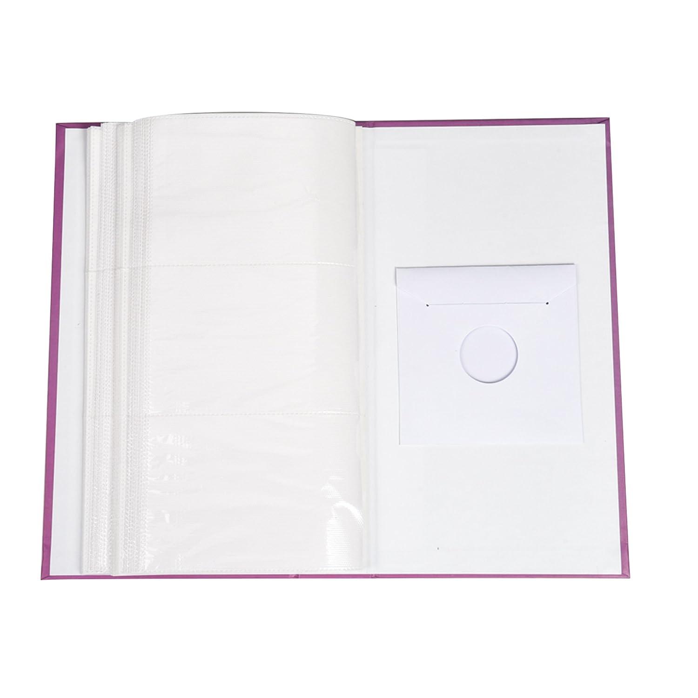album per foto con 300 tasche per foto da 10 x 15 cm Black Floral Arpan