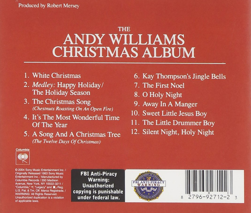 Buy Andy Williams Christmas Album Online at Low Prices in India ...