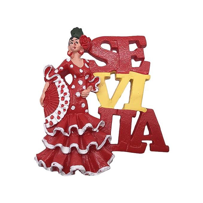 3D Sevilla Sevilla España Nevera Imán de Nevera Recuerdos ...