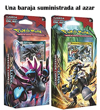 Pokemon JCC Sol y Luna: Invasión Carmesí Baraja - Español (1 al Azar) The Pokémon Company POSMCI01