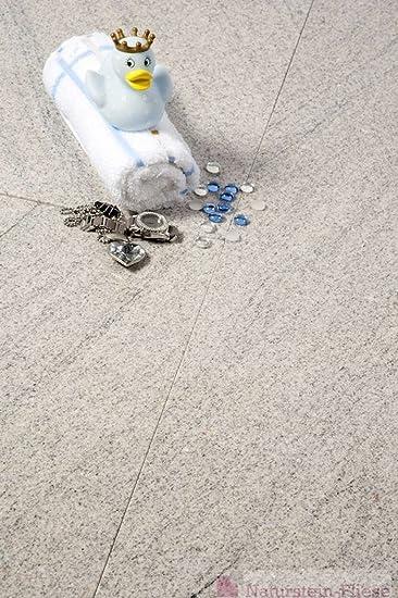 Granitfliesen Imperial White Musterplatte Xx Cm Fliesen In - Wie viel fliesen pro qm