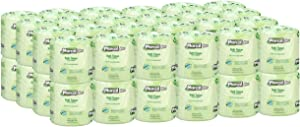 Marcal Pro Toilet Paper 100% Recycled - 2 Ply, White Bath Tissue, 242 Sheets Per Roll - 48 Individually Wrapped Rolls Per Case Green Seal Certified Toilet Paper 03001