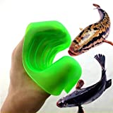 FULLIN Catch Fish Glove Prevent Stabbed Anti Slip Smell Stab Resistant Fishing Gloves Hand Protection to Catch Fish Grip Fishing Tackle Accessory