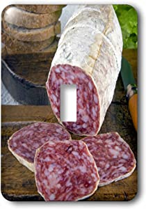 3dRose LLC lsp_82144_1 Italy, Tuscany, Cuisines, Tuscan Salame Eu16 Nto0102 Nico Tondini Single Toggle Switch