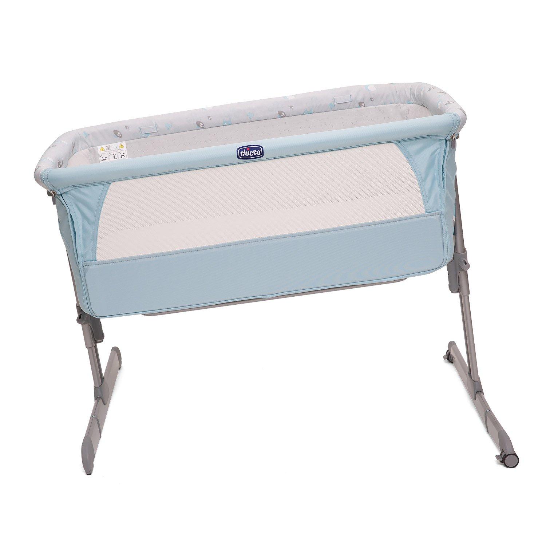 Chicco Next2me - Cuna de colecho con anclaje a cama y 6 alturas, colección 2017, color azul: Amazon.es: Bebé