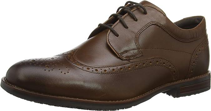 Rockport Dustyn Shoe, Zapatos de Cordones Brogue para Hombre