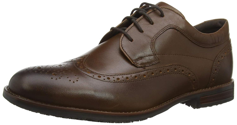 TALLA 40.5 EU. Rockport Dustyn Shoe, Zapatos de Cordones Brogue para Hombre